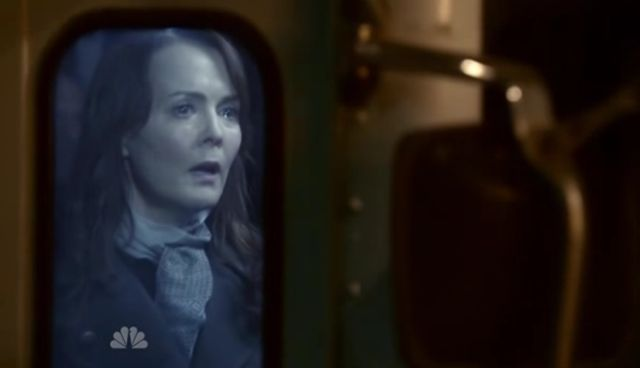 The Event S01x15 Sophia watches in horror