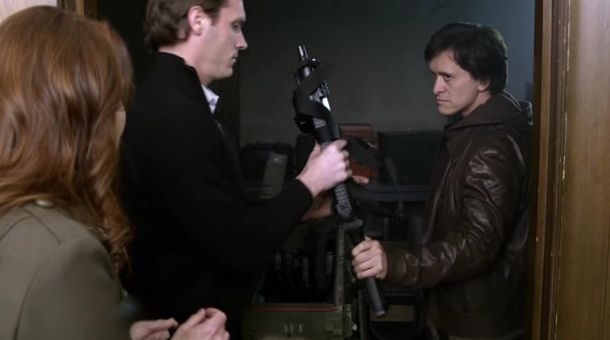 The Event S01x15 Thomas arming
