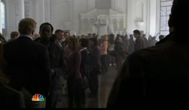 The Event S1x14 Aliens In the meeting place