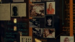 The Listener S2xE6 evidence board