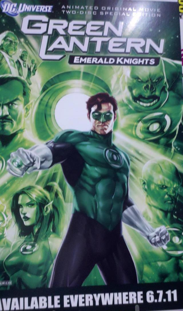 WonderCon 2011 - Green Lantern: Emeraqld Nights Poster
