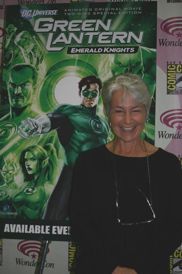 WonderCon 2011 - Green Lantern Emerald Nights Andrea Romano