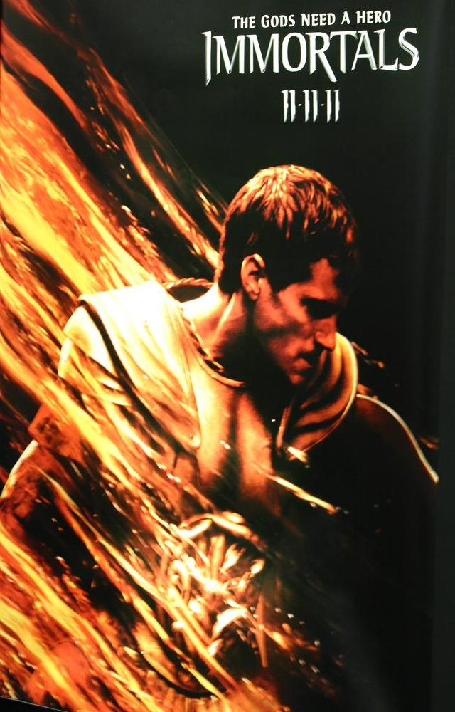 Immortals Poster - Image courtesy TVKaleidoscope