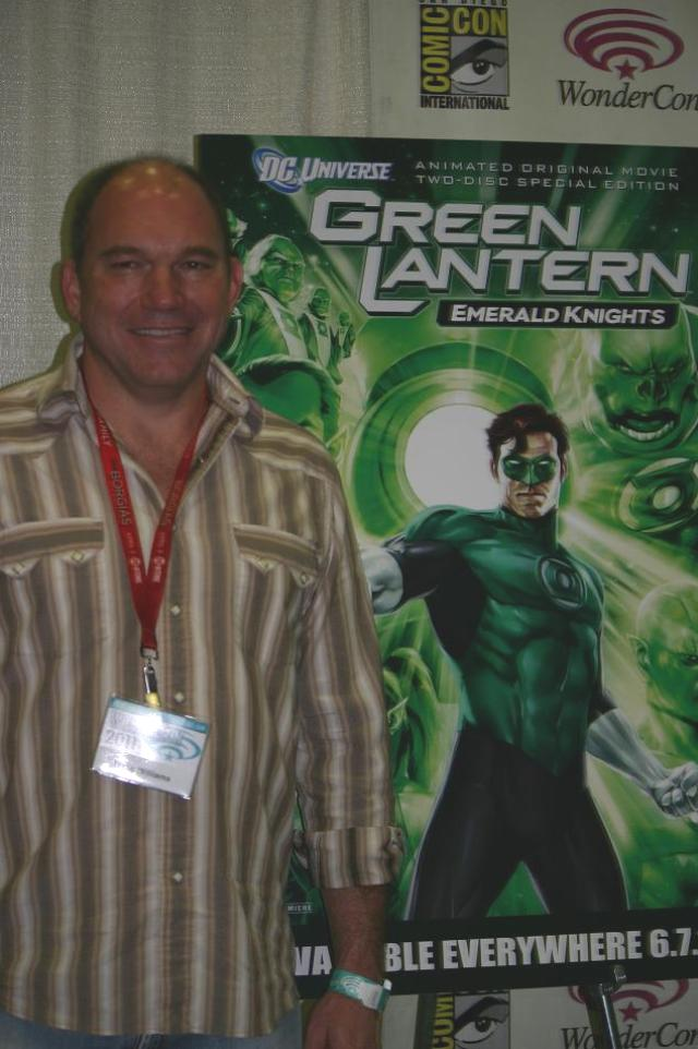 WonderCon 2011 - Green Lantern Emerald Nights Wade Williams