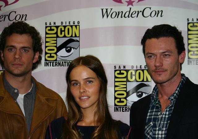 WonderCon 2011 - Henry Cavill, Isabel Lucas, Luke Evans