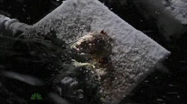 The Event S01x17 Body in Russian Excavation