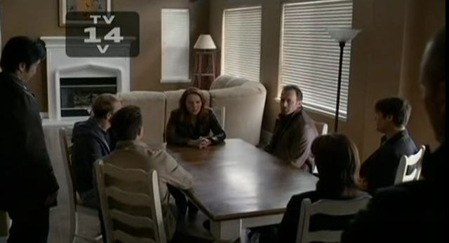 The Event S01x17 Sophia's meeting
