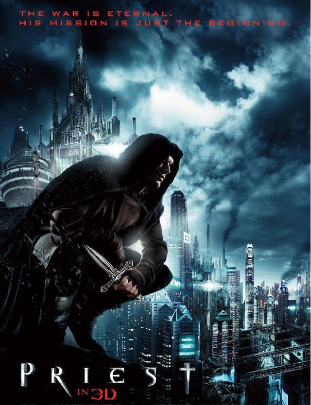 WonderCon2011 - Priest - Poster