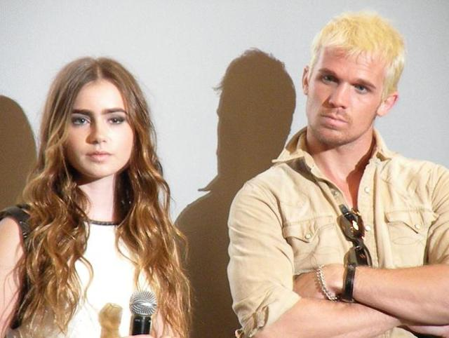 Lilly Collins & Cam Gigandet Priest Metreon WonderCon