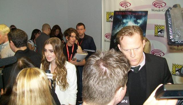 Priest Press Room - WonderCon 2011 - Lily and Paul