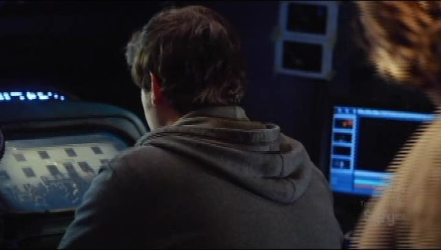 Eli watching video
