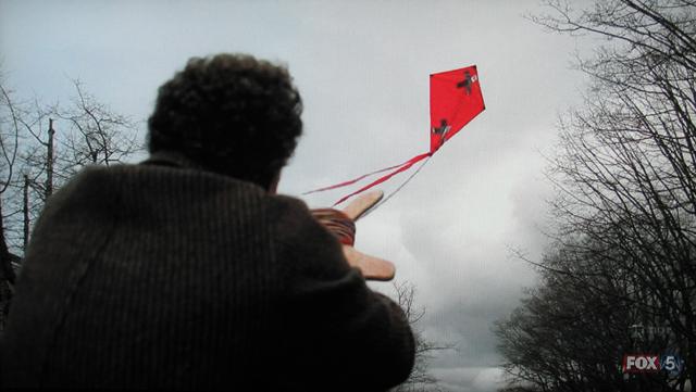 Fringe- S3x21 – Walter flying a kite