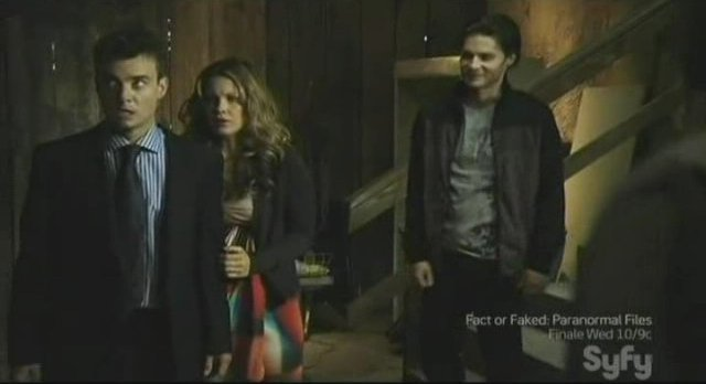 Sanctuary S3x13 - Abby and Will are hostages