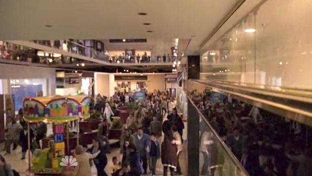 Mall Evac. Scene