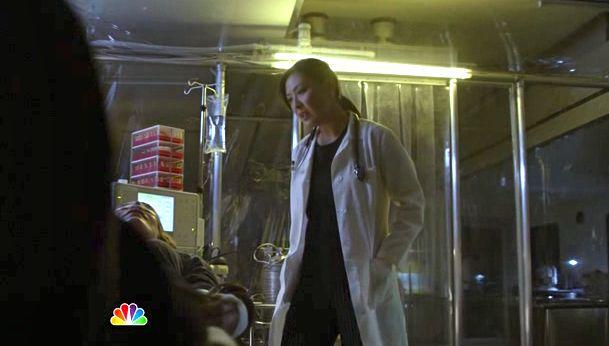 Dr. Liu over Leila