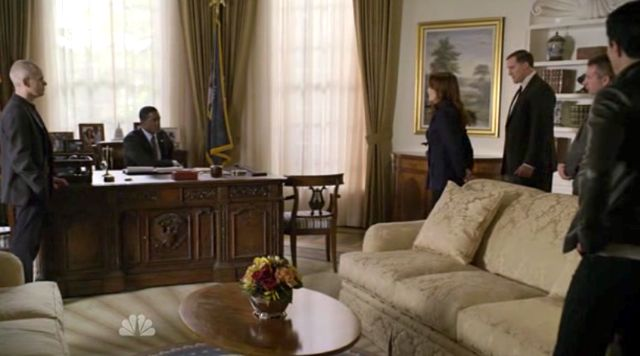 Sophia in Oval Office