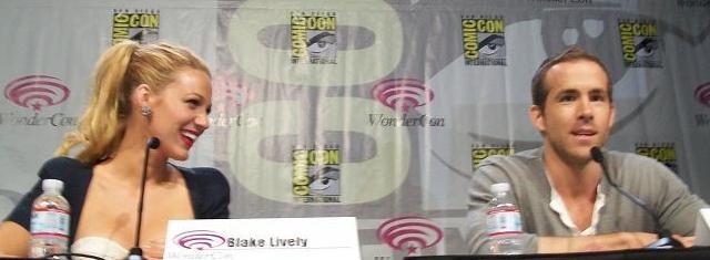 Blake Lively and Ryan Reynolds at WonderCon 2011