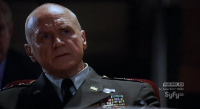 Doomsday Prophecy - Alan Dale as General Slate
