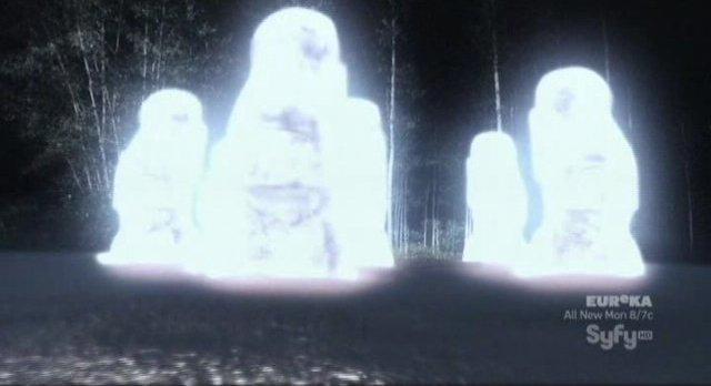 Doomsday Prophecy - Maoi stones glow