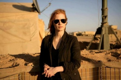 Zero Dark Thirty - Chastain at work tracking down OBL