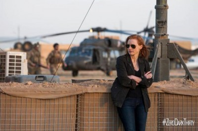 Zero Dark Thirty - Jessica Chastien as Maya in the field