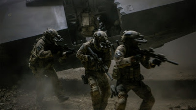 Zero Dark Thirty -Seal Team Six on the move