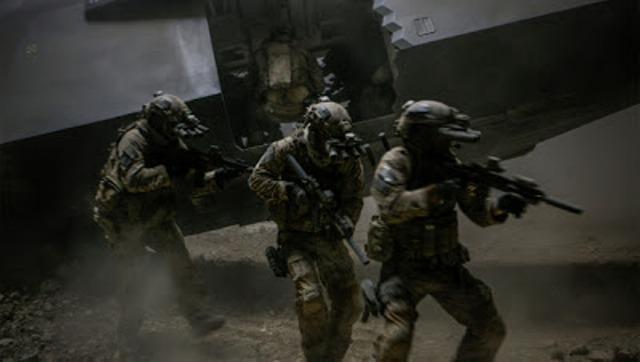 Zero Dark Thirty -Seal Team Six on the move