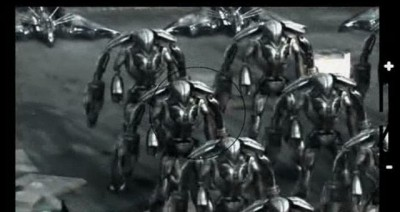Falling Skies S3x02 - Ben and Dani discover an army of Mega Mech's