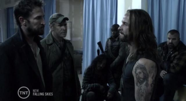 Falling Skies S3X03 Pope has something to say