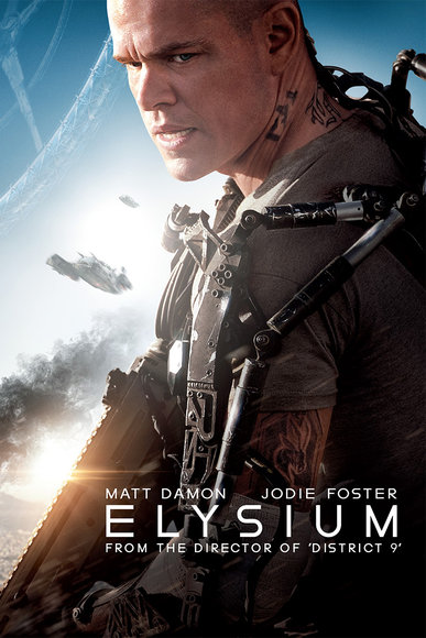 Elysium banner poster - Click to learn more at the official Sony Pictures web site!