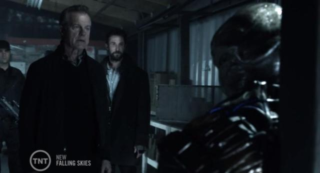 Falling Skies S3X04 Chat with Cochise
