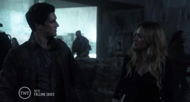 Falling Skies S3X04 Hal deceives Maggie