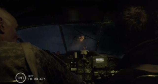 Falling Skies S3X04 Shot down plane