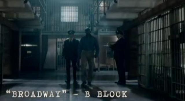Alcatraz S1x08-Cell Block walk
