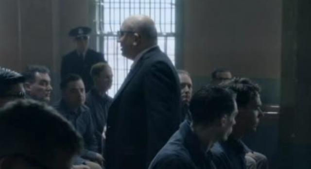 Alcatraz S1x09-Warden James preaching