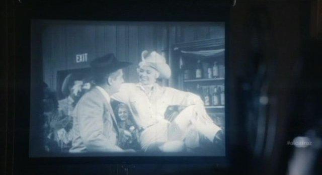 Alcatraz S1x08 - Born Reckless Melon girl Mamie Van Doren