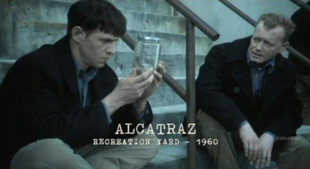 Alcatraz S1x08 - Prison recreation yard
