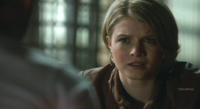 Alcatraz S1x08 - Rebecca is stunned to learn the truth