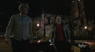 Alphas S2x02 - Rosen and Eli arrive at the location of the clinic