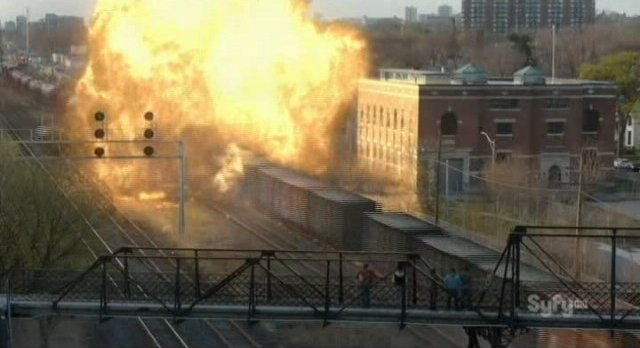 Alphas S2x02 - The suspicious train wreck from Wake Up Call