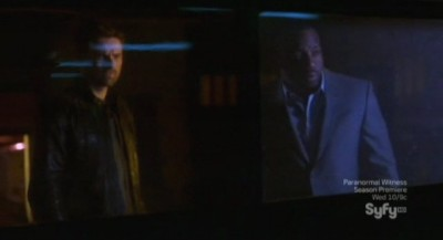 Alphas S2x03 - Bill and Cameron arrive at an Alpha Fight Club