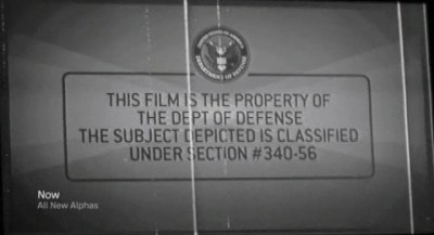 Alphas S2x06 - Department of Defense film from World War 2
