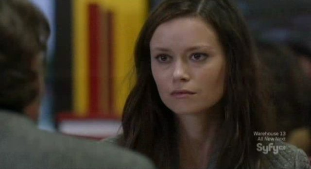 Alphas S2x06 - Skylar not happy she was found by Parish in the dinner