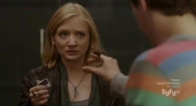 Alphas S2x08 - Kat panics when she learns Bill will arrest Dylan