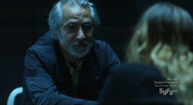 Alphas S2x08 - Rosen vsits with daughter Dani in prison