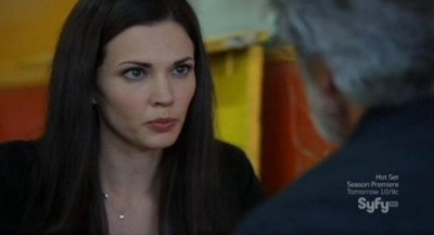 Alphas S2x08 - Nina learns from Rosen that Dani is the spy