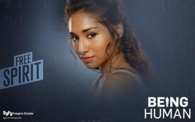 Being Human S1 Banner wallpaper - Click to learn more at Syfy!