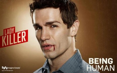 Being Human S1 Banner Aidan wallpaper - Click to learn more at Syfy!