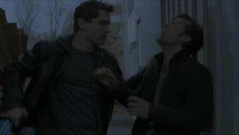 Being Human S2E12 Henry and Aidan stake