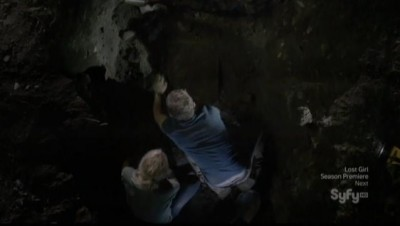 Being Human S3E1 Diggin up Sally